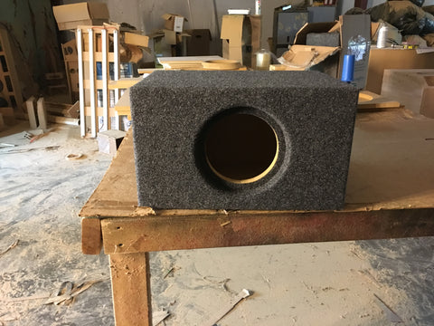 "DS18 EXL-X 6.5"" Ported Subwoofer Box 6.5"""