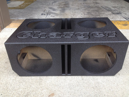 "Dodge Charger 4 - 12"" Speaker Box Sub Subwoofer Enclosure Box"