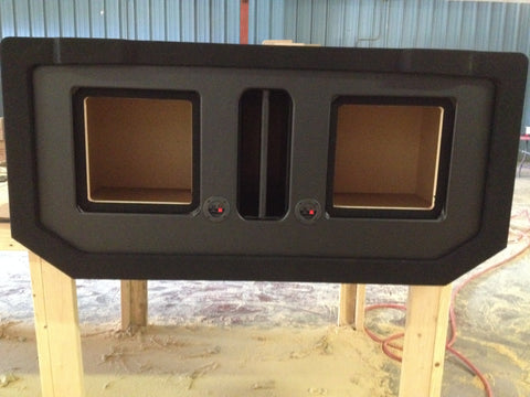 "Avalanche Escalade EXT Kicker L7 Speaker Box Midgate Sub Subwoofer Enclosure 8"", 10"", 12"" 15"""