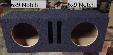 G Body Monte Carlo SS Buick Regal Oldsmobile Cutlass 6x9 Notches Speaker Box Sub Subwoofer Enclosure