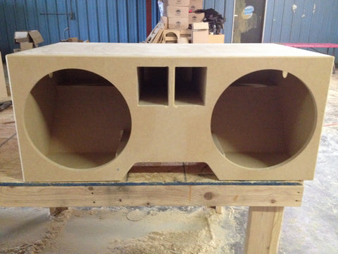 "1994 1995 1996 BUBBLE CHEVY Impala Caprice 2 10"" 12"" 15"" Bare wood SPEAKER BOX SUB SUBWOOFER ENCLOSURE"