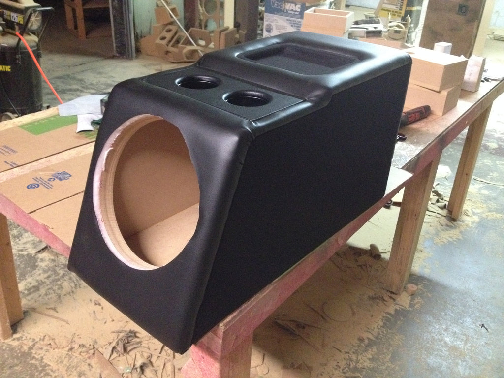 Chevy Silverado Extended Cab Console Replace Sub Subwoofer