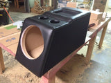 Chevy Silverado Extended Cab Console Replace Sub Subwoofer Box Enclosure