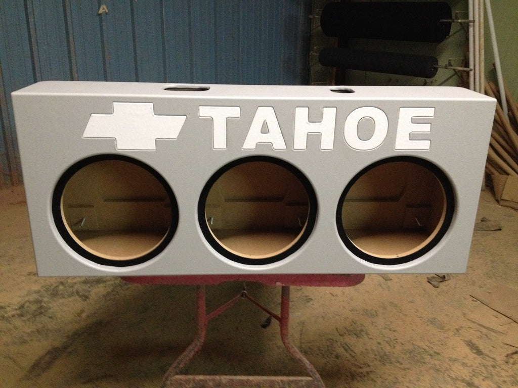 3rd Row Suv For Sale >> Chevrolet Tahoe SUV Behind 3rd Row Seat Sub Box Subwoofer Enclosure 3 – AK Audio