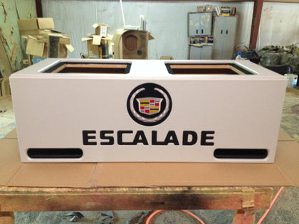 "Cadillac Escalade SUV Kicker L7 15"" 12"" Speaker Box Sub Subwoofer Enclosure"