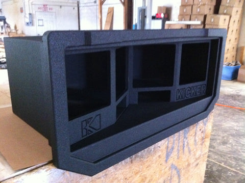 "Chevy Avalanche Cadillac Escalade EXT Midgate Replace Four 12"" Kicker L7 Subwoofer Speaker Box Enclosure"