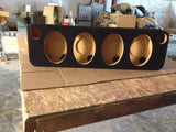 4 6x9 and 2 tweeters Slim Design SPEAKER ENCLOSURE COAXIAL CAR SPEAKER BOXES