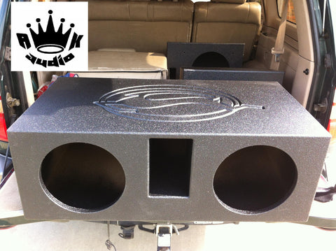 Chevy Impala SS Chevy Caprice 1994 1995 1996 Bubble Chevy Bedliner Sprayed Speaker Box Sub Subwoofer Enclosure