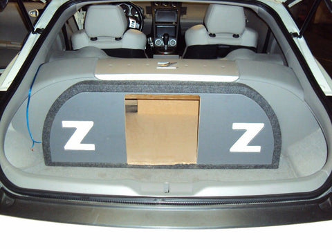 "Nissan 350z 12"" Speaker Box Kicker Solobaric L7 L5 Sub Subwoofer Enclosure Box"