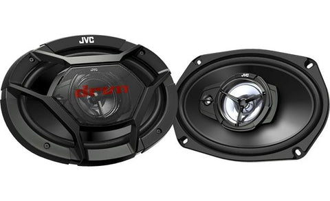"JVC 6"" x 9"" 3-Way Speakers CS-DR6930"