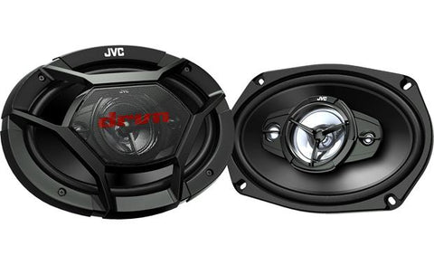 "JVC 6"" x  9"" 4-Way Speakers CS-DR6940"