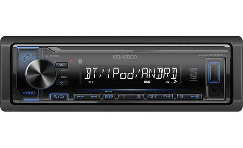 Kenwood Single Din Digital Multimedia Receiver KMM-BT222U