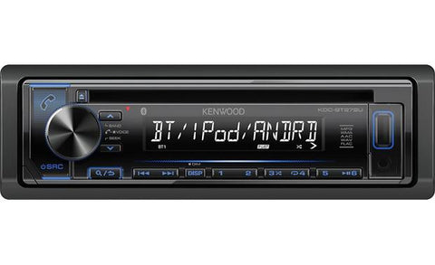 Kenwood Single Din CD Receiver KDC-BT272U