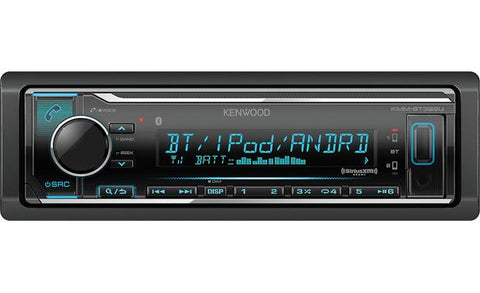 Kenwood Single Din Digital Multimedia Receiver KMM-BT322U