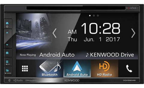 "Kenwood Excelon 6.8"" Double Din Multimedia DVD Receiver DDX6904S"