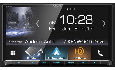 "Kenwood Excelon 7"" Double Din Multimedia DVD Receiver DDX9904S"