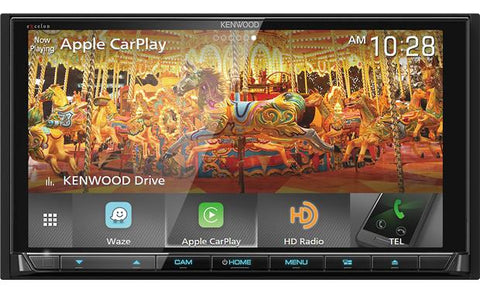 "Kenwood Excelon 6.75"" Double Din Multimedia DVD Receiever DDX9905S"