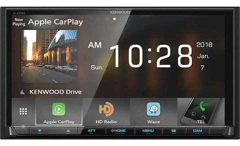 "Kenwood Excelon 6.95"" Double Din Digital Multimedia Receiver DMX905S"
