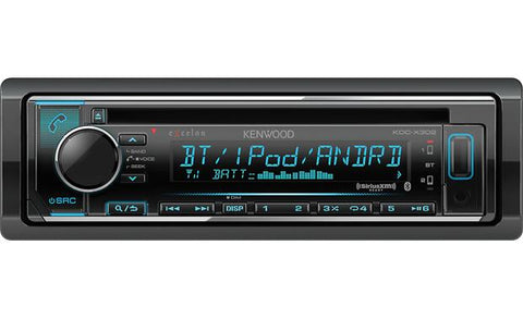 Kenwood Excelon Single Din CD Receiver KDC-X302