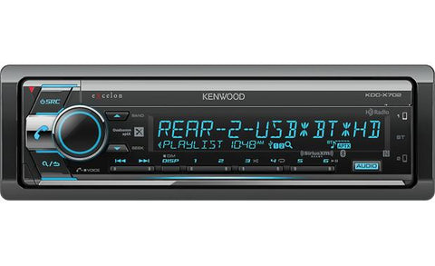 Kenwood Excelon Single Din CD Receiver KDC-X702