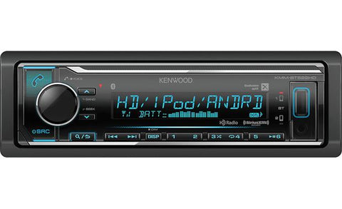 Kenwood Single Din Digital Multimedia Receiver KMM-BT522HD