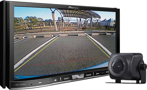 "Pioneer 7"" Double Din AV Navigation Receiver with Backup Camera AVIC-7201NEX"