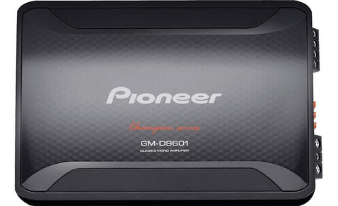 Pioneer GM Digital Series 2400W Monoblock Class D Amplifier GM-D9601