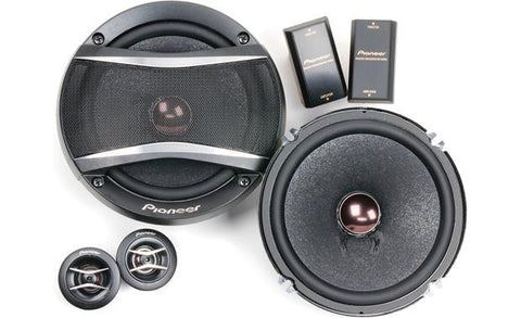 "Pioneer 6.5"" Component Speaker System TS-A1606C"