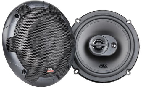 "MTX Terminator Series 6.5"" 3-Way Speakers Terminator653"