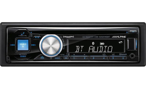 Alpine Single Din CD Receiver CDE-SXM145BT