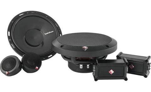 "Rockford Fosgate Punch 6.5"" 2-Way Component Speaker System P165-SE"