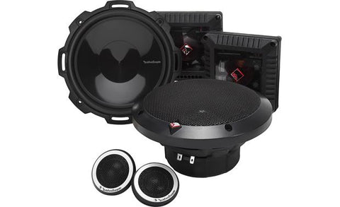 "Rockford Fosgate Power 6.75"" 2-Way Component Speaker System T1675-S"