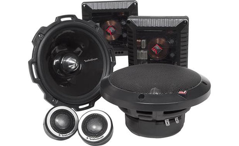 "Rockford Fosgate 6.5"" 2-Way Component Speaker System T2652-S"