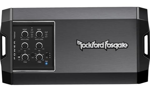 Rockford Fosgate Power Series 400W 4-Channel Class AD Amplifier T400X4ad