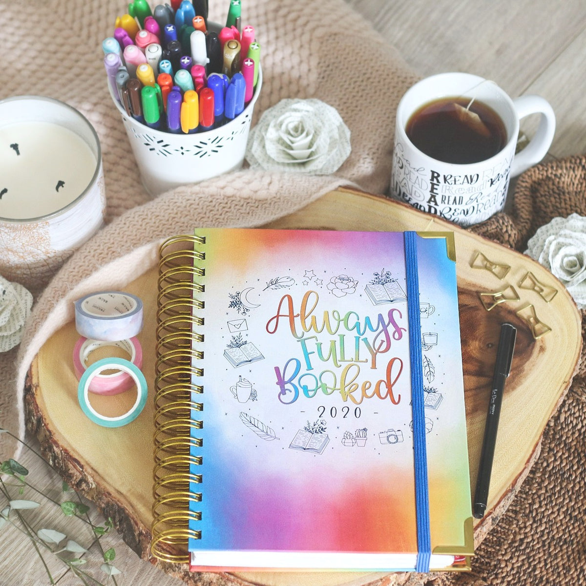 Image result for little inkling designs 2020 reading planner