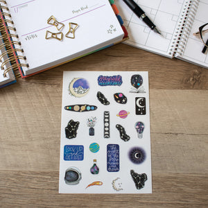 Intersteller Planner Stickers