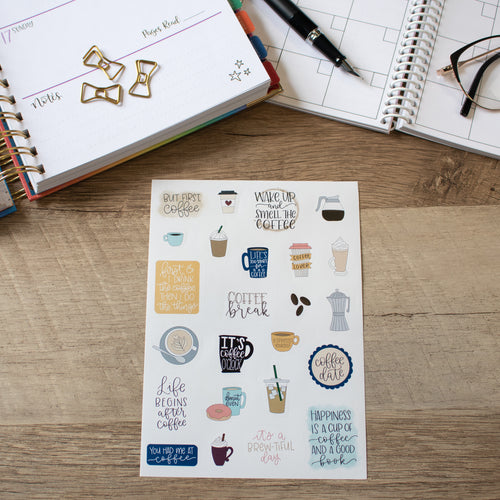 Coffee Break - Planner Stickers