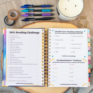 Always Fully Booked 2021 Planner - VERTICAL
