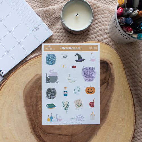 Bewitched - Planner Stickers