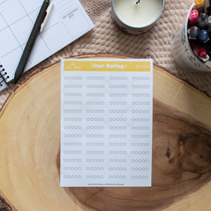 Star Rating - Planner Stickers