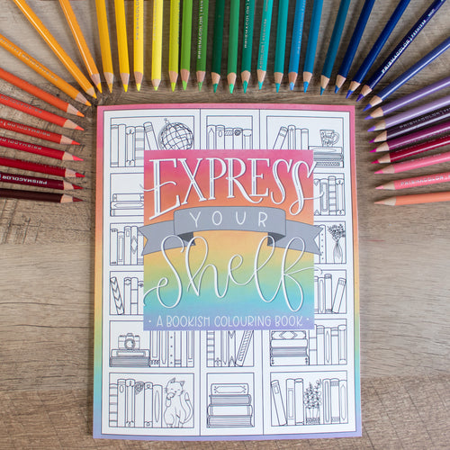 Express Your Shelf - Colouring Book