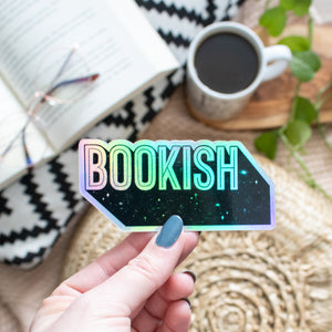 Bookish - HOLOGRAPHIC - Vinyl Sticker