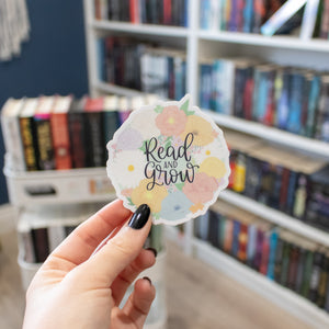 Read and Grow - Vinyl Sticker