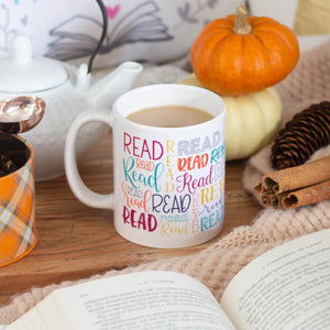 """Read"" Full-Colour Mug 11 oz"