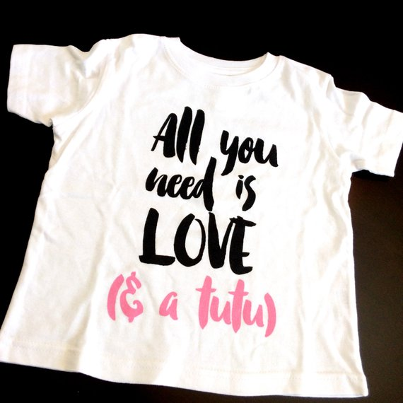 Love & A Tutu - Children's Shirt