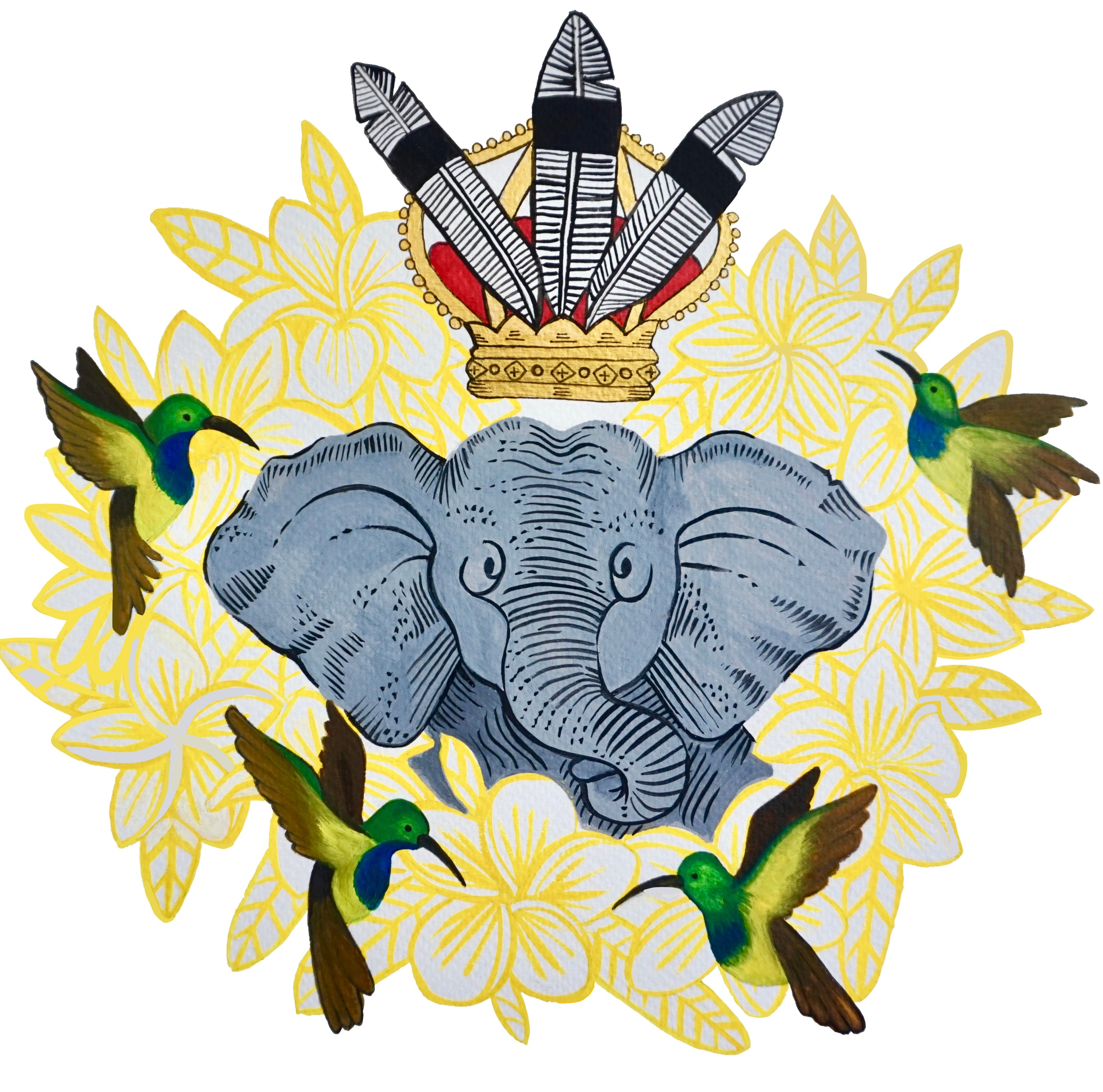 Pygmy Elephant Art