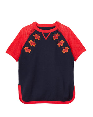 Hibiscus Knitted Top