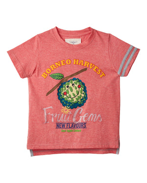 Fruit Gems T-Shirt - Custard Apple