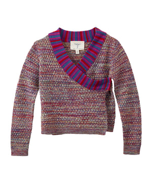 Himalayan Wrap Knit Top