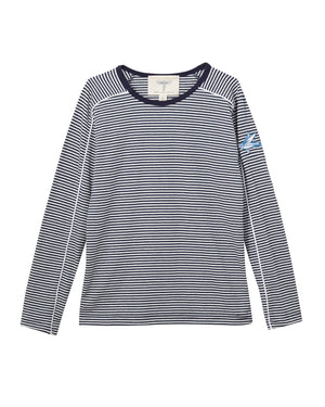 IKANN Navy Stripe T-Shirt